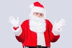 Sfrustowany Santa obrazy royalty free