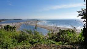 SFS-praia Fotografia de Stock Royalty Free