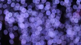 Sfuocato sparato delle luci di Natale illustrazione di stock