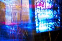 Sfuocatura al neon Immagine Stock Libera da Diritti