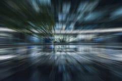 Sfuocatura astratta di velocità di moto Fotografie Stock Libere da Diritti