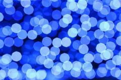 Sfuocatura chiara blu Fotografie Stock