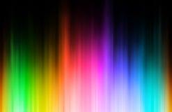 Sfuocatura del Rainbow Fotografie Stock