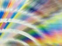 Sfuocatura del Rainbow Fotografia Stock