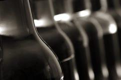 Sfuocatura della bottiglia Immagini Stock Libere da Diritti