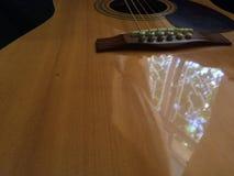 Sfuocatura della chitarra Fotografia Stock Libera da Diritti