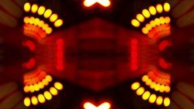 Sfuocatura della luce del tunnel illustrazione vettoriale
