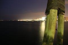 Sfuocatura 1 della luce notturna Immagine Stock Libera da Diritti