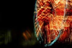 Sfuocatura della rotella di Ferris Immagine Stock