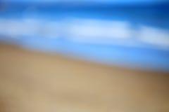 Sfuocatura della spiaggia Fotografia Stock