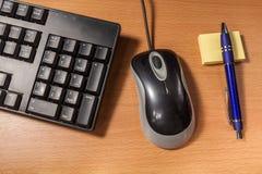 Sfuocatura della tastiera Immagini Stock Libere da Diritti