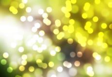 Sfuocatura di Boken dello sfondo naturale della foglia verde Immagini Stock