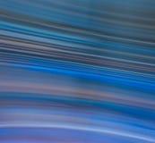 Sfuocatura di movimento blu fredda Fotografia Stock