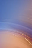 Sfuocatura di movimento blu fredda fotografie stock