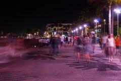 Sfuocatura di notte Fotografia Stock