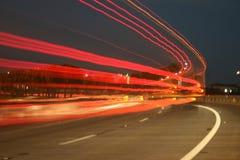 Sfuocatura di traffico Fotografie Stock