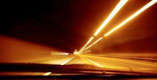 Sfuocatura di velocità della strada immagini stock libere da diritti