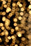 Sfuocatura festiva della catena chiara Fotografia Stock