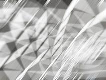 Sfuocatura, linea veloce, colore di forma, bello fondo d'argento astratto fotografie stock