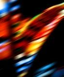 Sfuocatura luminosa degli indicatori luminosi di colore Immagine Stock