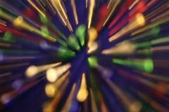 Sfuocatura multicolore Immagine Stock