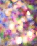 Sfuocatura Multicoloured Fotografia Stock