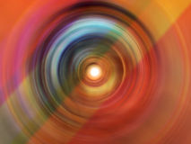 Sfuocatura radiale impressionante Fotografie Stock