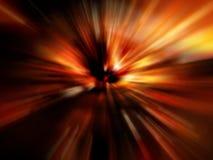 Sfuocatura rossa astratta Fotografia Stock