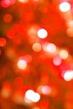 Sfuocatura rossa dell'indicatore luminoso di incandescenza fotografie stock libere da diritti