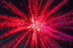 Sfuocatura rossa di Sprialed Immagine Stock