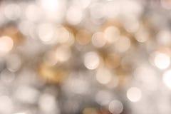 Sfuocatura Sparkly di festa Fotografie Stock Libere da Diritti