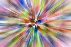 Sfuocature di colore Fotografia Stock