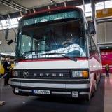 SG articulado 219 SL, 1987 de Setra del autobús Fotografía de archivo