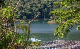 Sg Como wpływu aquaculture projekta pomoce zmniejszają ubóstwo obraz stock