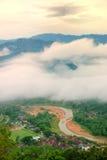 SG. De Heuvel Kuantan van Lembing Stock Afbeelding