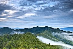 SG. De Heuvel Kuantan van Lembing Royalty-vrije Stock Foto's