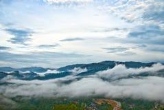 SG. De Heuvel Kuantan van Lembing Stock Foto