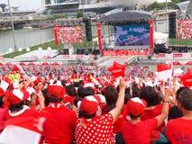 SG50 - Dia nacional de Singapura Fotografia de Stock Royalty Free