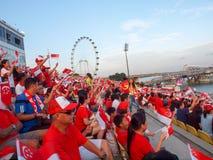 SG50 - Dia nacional de Singapura Imagens de Stock