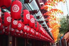 SG do bairro chinês Fotografia de Stock Royalty Free