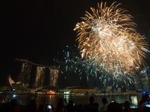 SG50 - Het Gouden jubileum 2015 van Singapore Stock Afbeelding