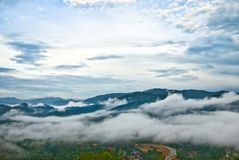 Sg. Lembing Hill Kuantan Stock Photo