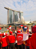 SG50 - Singapore National Day / MBS Stock Photography