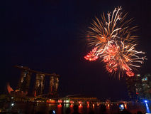 SG50 - Singapore's Golden Jubilee 2015 Royalty Free Stock Photos
