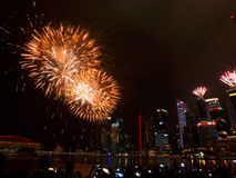 SG50 - Singapore's Golden Jubilee 2015 Royalty Free Stock Images