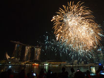 SG50 - Singapore's Golden Jubilee 2015 Stock Image