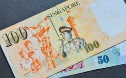 SGD δολαρίων τραπεζογραμματίων της Σιγκαπούρης Στοκ φωτογραφίες με δικαίωμα ελεύθερης χρήσης