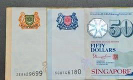 SGD van de het bankbiljetdollar van Singapore Royalty-vrije Stock Fotografie