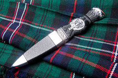 Free Sgian Dubh On Kilt Royalty Free Stock Images - 14789429