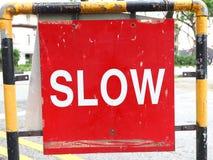 Sgin lento del tráfico Fotografía de archivo libre de regalías